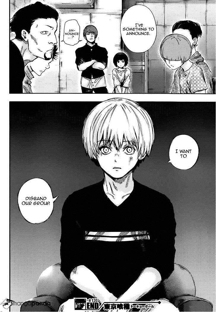 Tokyo Ghoul Chapter 120  Online Free Manga Read Image 17