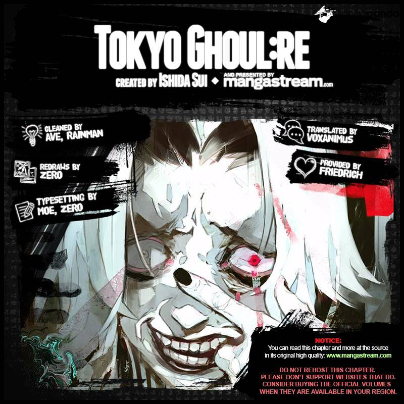 Tokyo Ghoul Chapter 144 Full Manga Read Scan Image 2