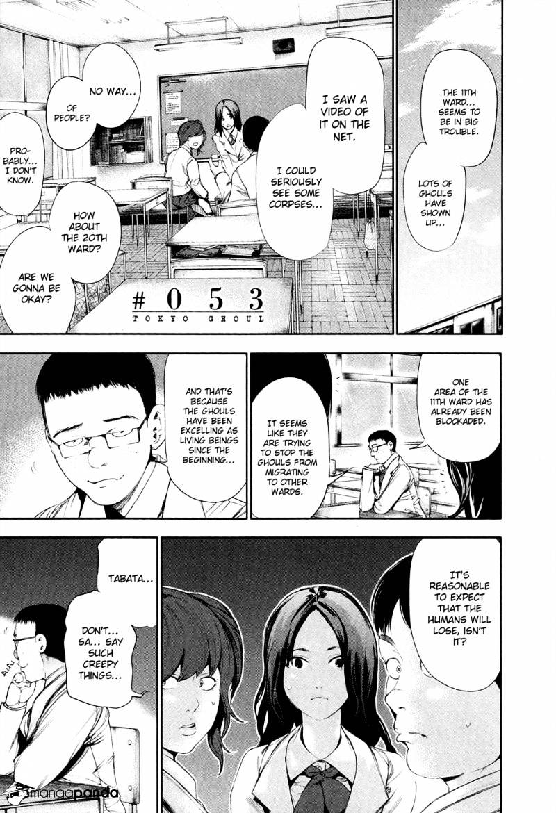 Tokyo Ghoul Chapter 53  Online Free Manga Read Image 2