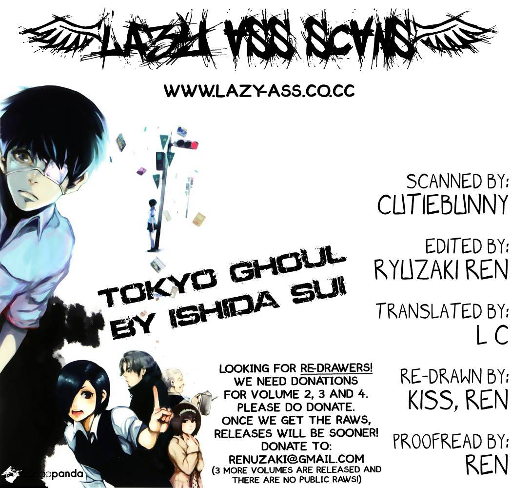 Tokyo Ghoul Chapter 6  Online Free Manga Read Image 1