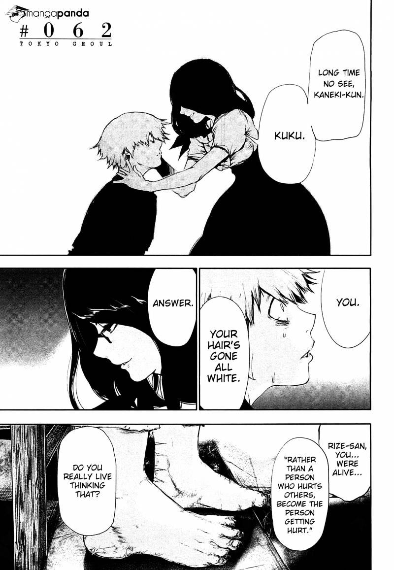 Tokyo Ghoul Chapter 62  Online Free Manga Read Image 2
