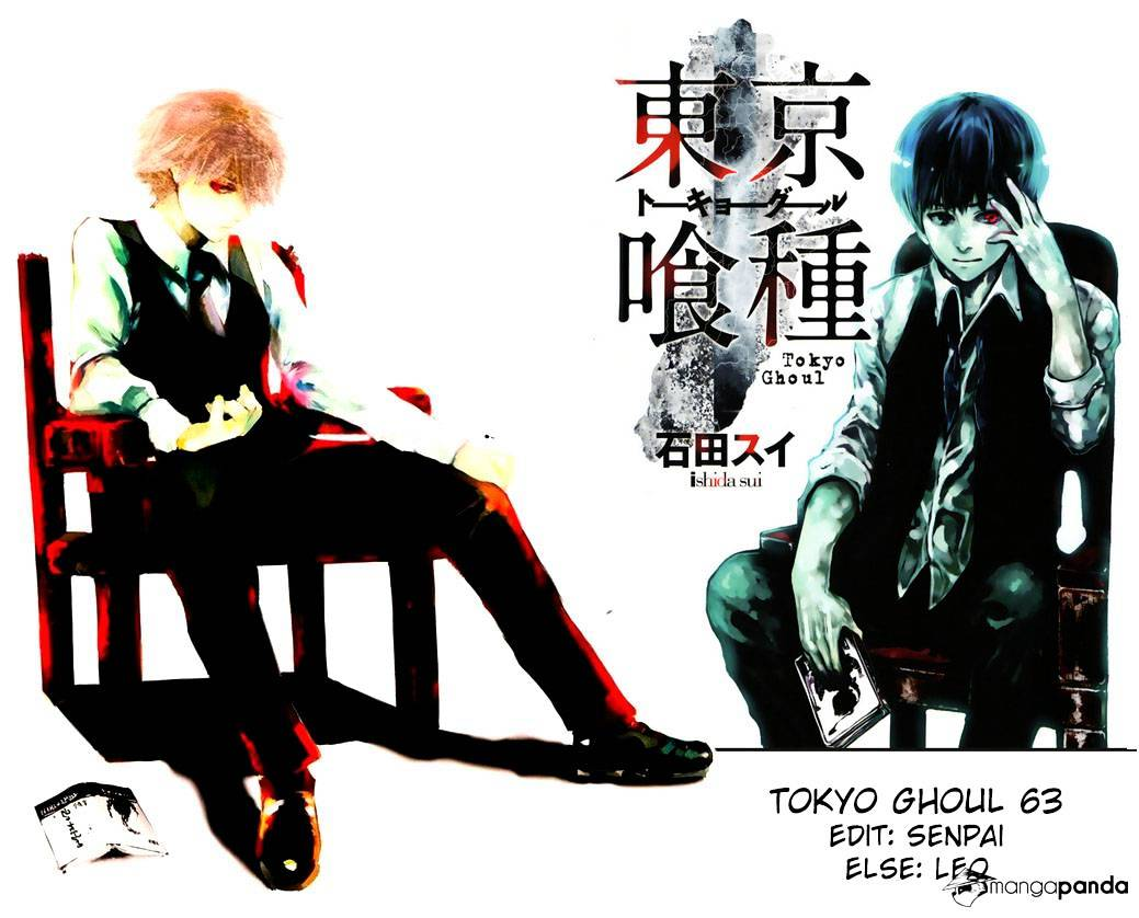 Tokyo Ghoul Chapter 63  Online Free Manga Read Image 1