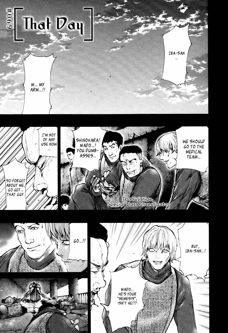Tokyo Ghoul Chapter 69  Online Free Manga Read Image 4