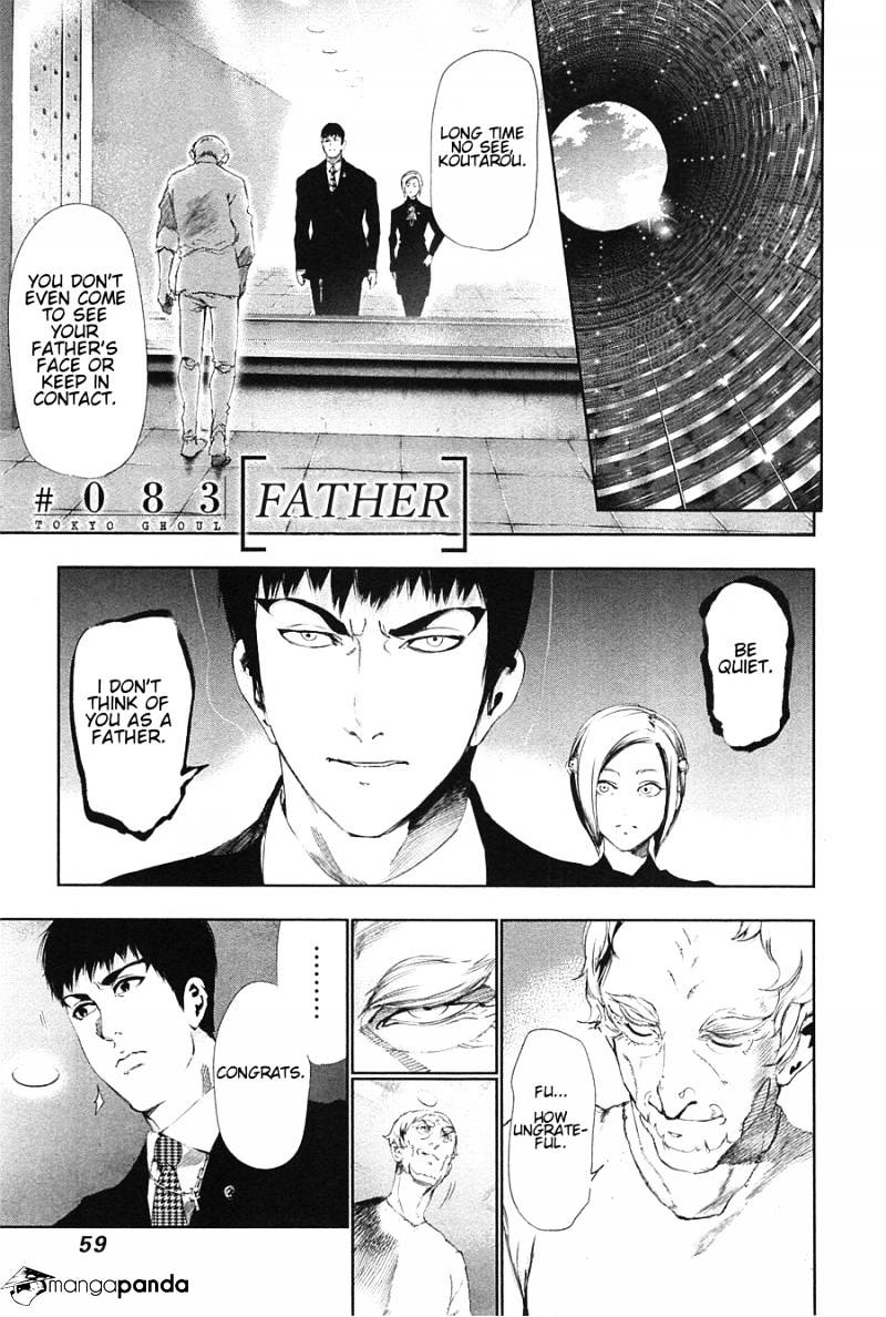 Tokyo Ghoul Chapter 83  Online Free Manga Read Image 1