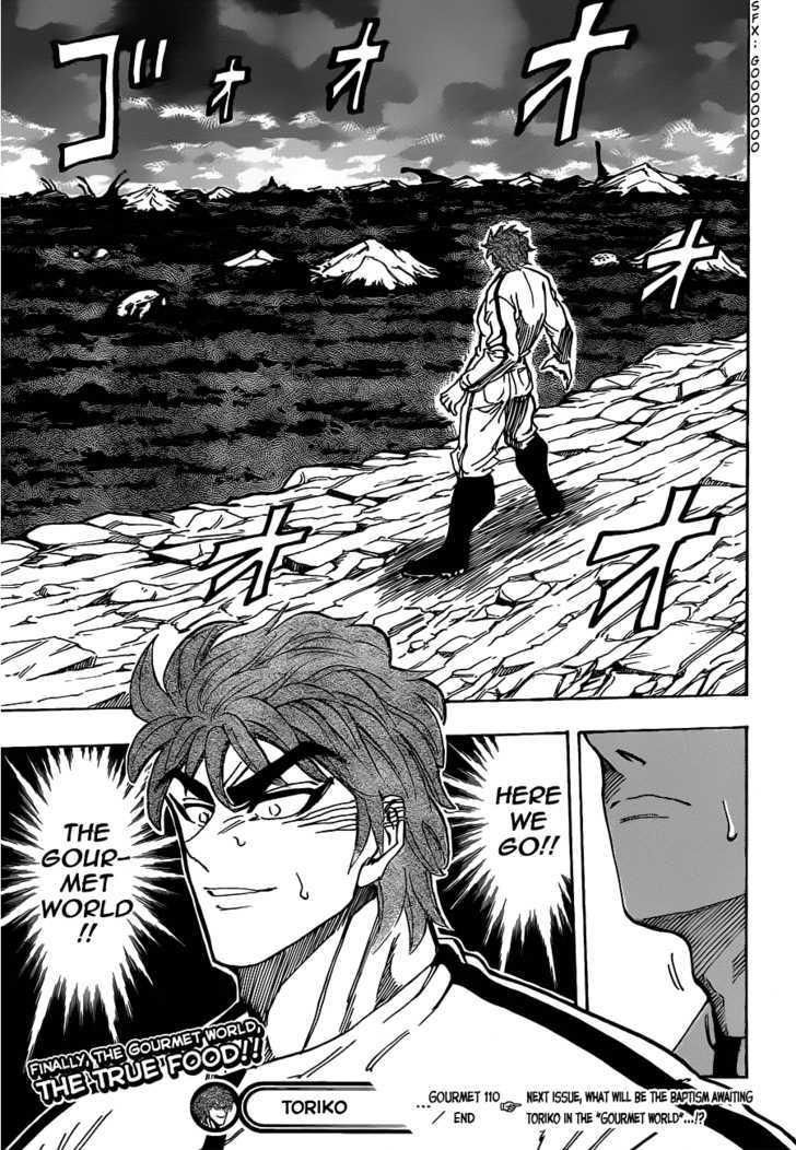 Toriko Chapter 110  Online Free Manga Read Image 18