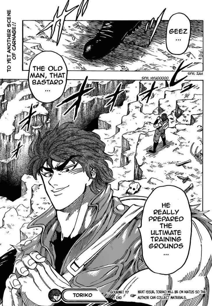 Toriko Chapter 117  Online Free Manga Read Image 19