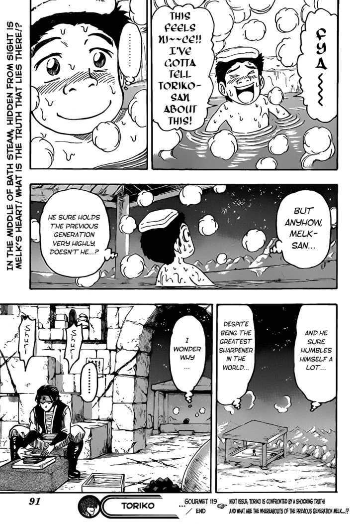 Toriko Chapter 119  Online Free Manga Read Image 19