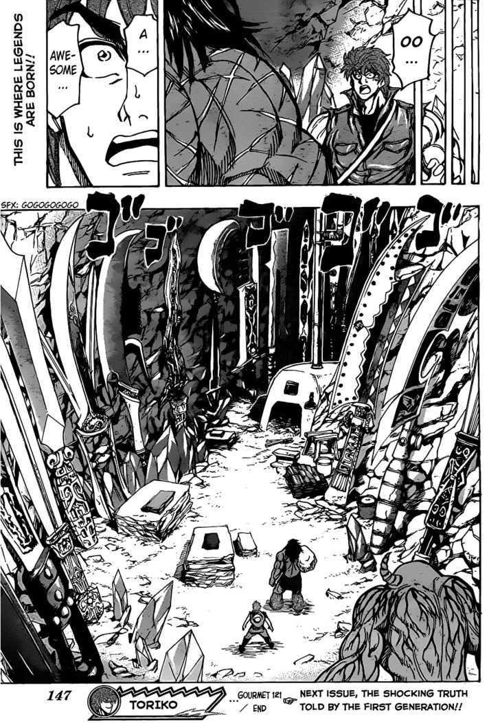 Toriko Chapter 121  Online Free Manga Read Image 18