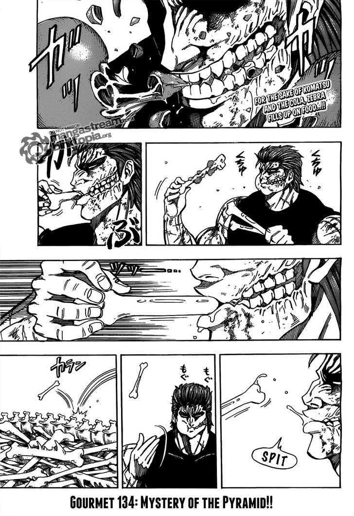 Toriko Chapter 134  Online Free Manga Read Image 3
