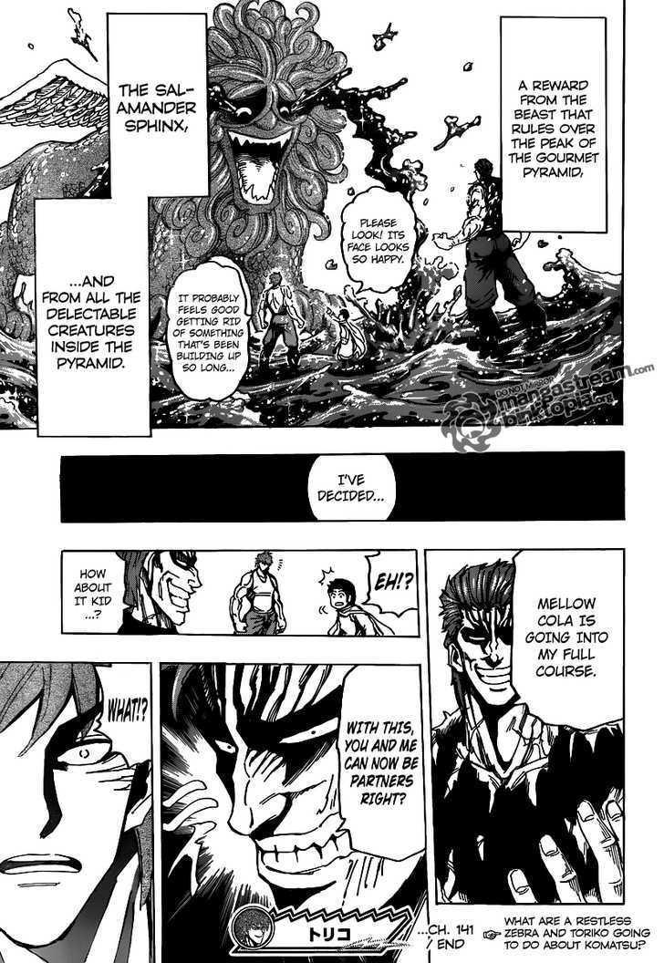 Toriko Chapter 141  Online Free Manga Read Image 21