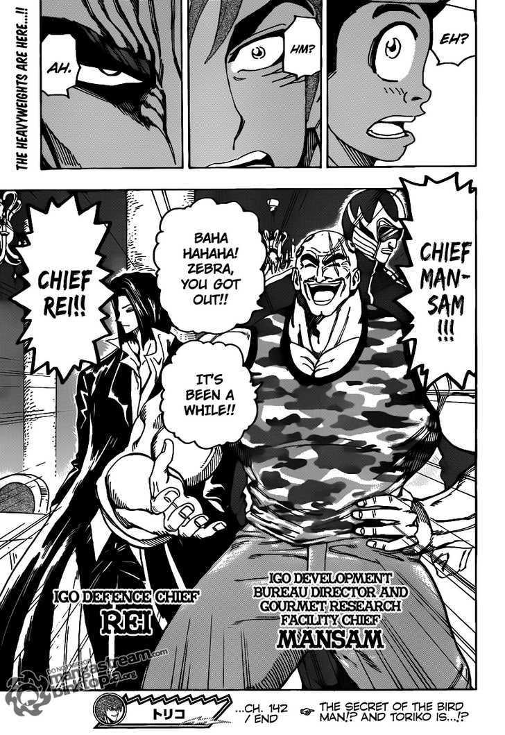 Toriko Chapter 142  Online Free Manga Read Image 20