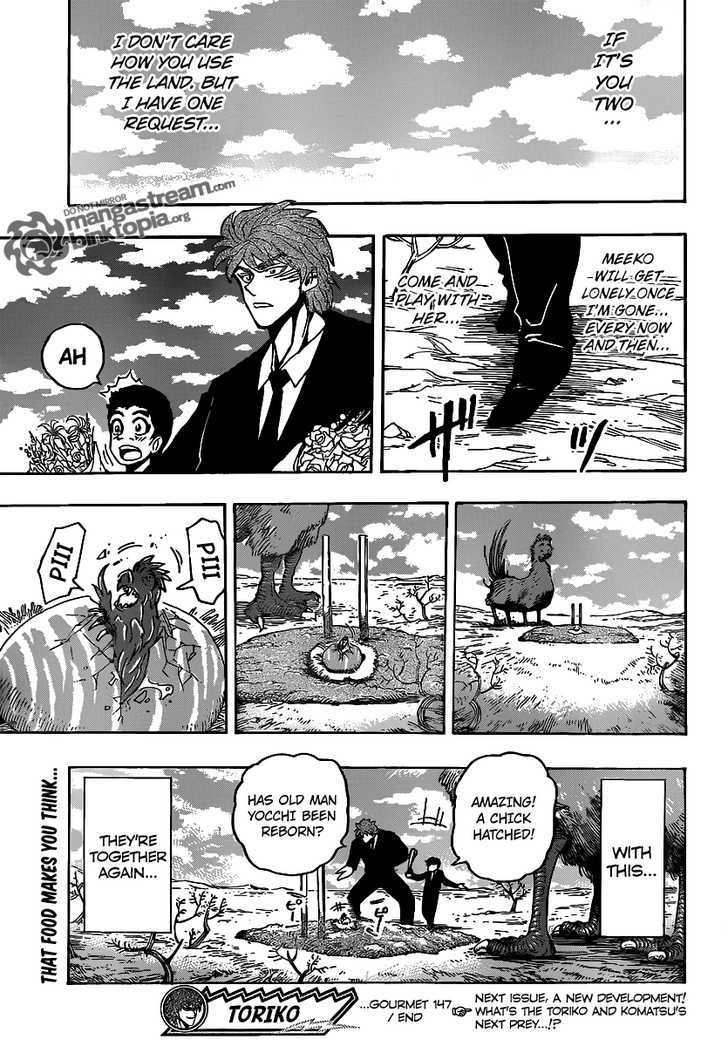 Toriko Chapter 147  Online Free Manga Read Image 20