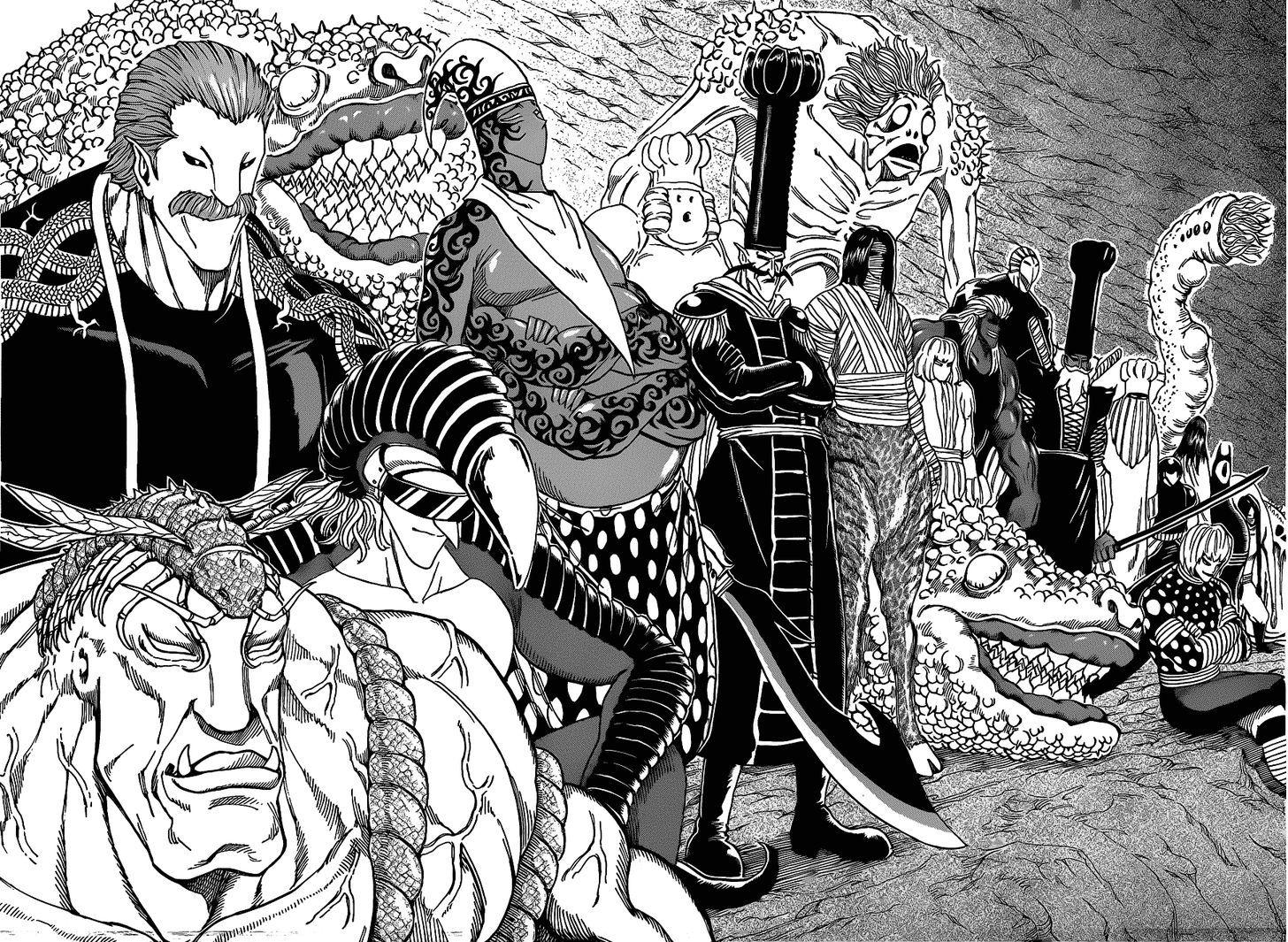 Toriko Chapter 171  Online Free Manga Read Image 12