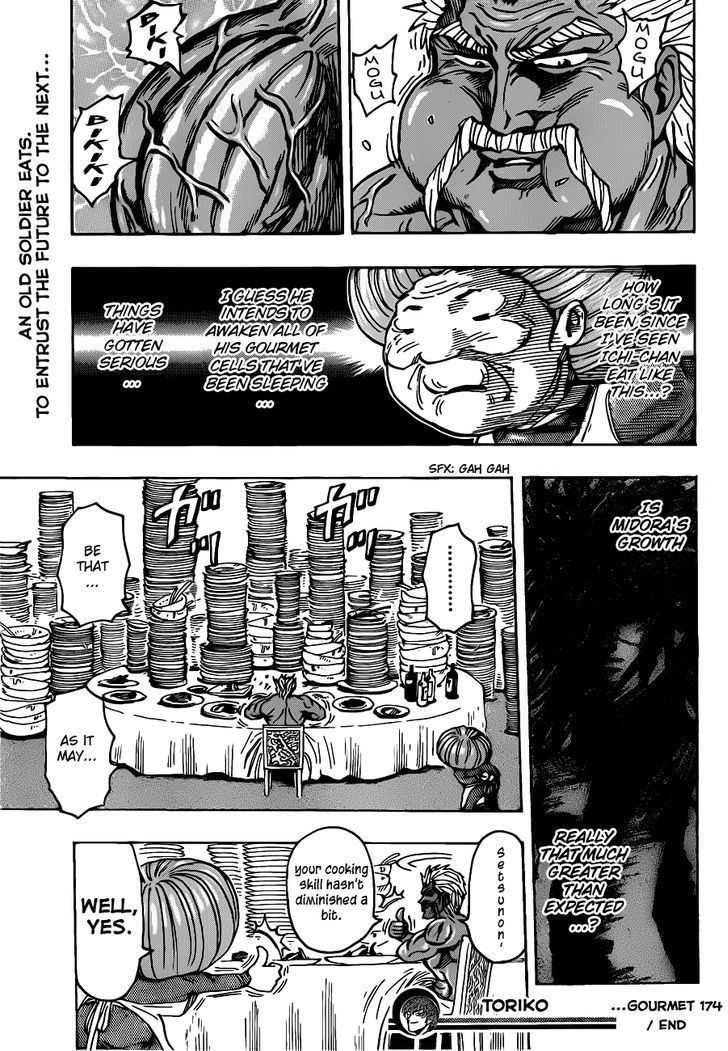 Toriko Chapter 174  Online Free Manga Read Image 18