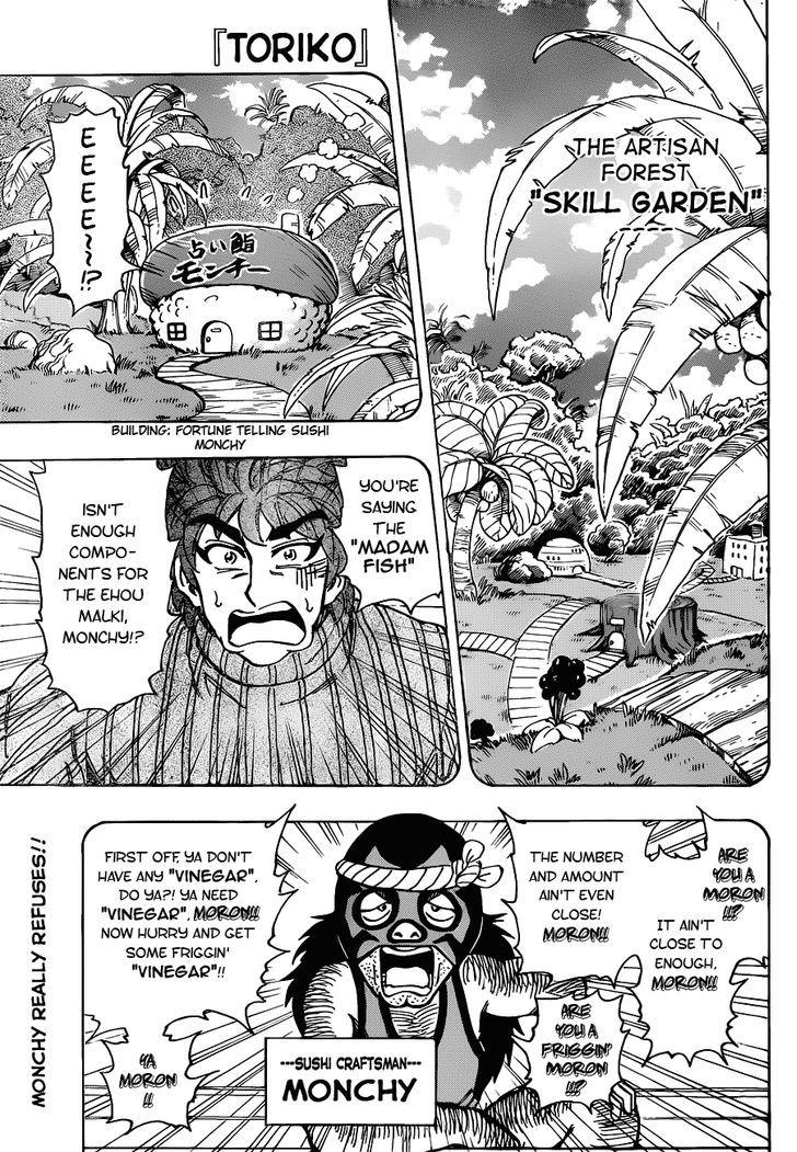 Toriko Chapter 176  Online Free Manga Read Image 1