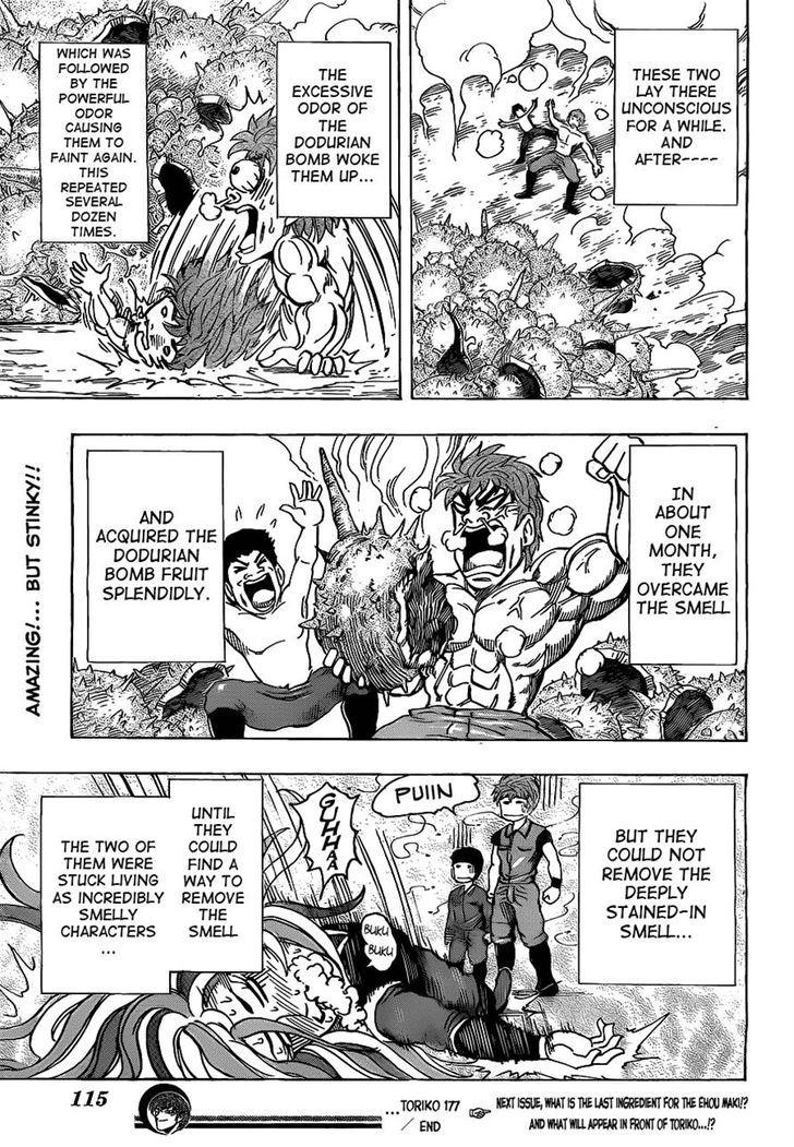 Toriko Chapter 177  Online Free Manga Read Image 18