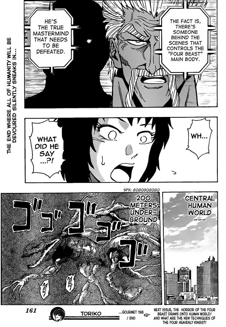 Toriko Chapter 198  Online Free Manga Read Image 17