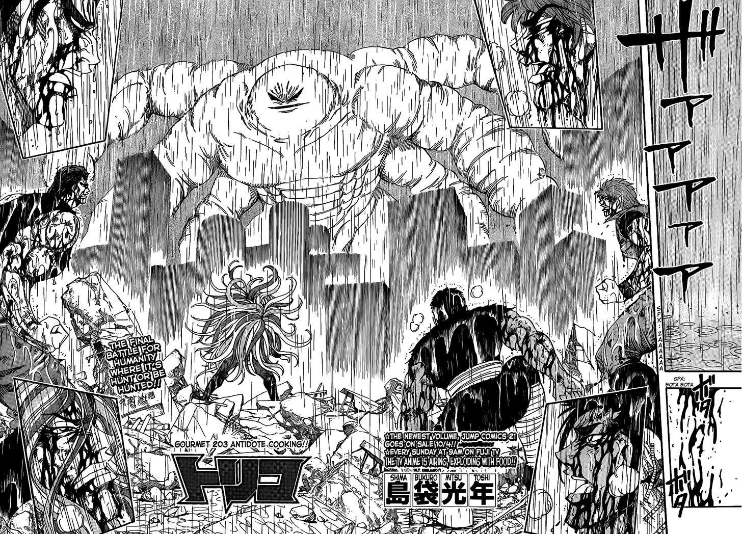 Toriko Chapter 203  Online Free Manga Read Image 6