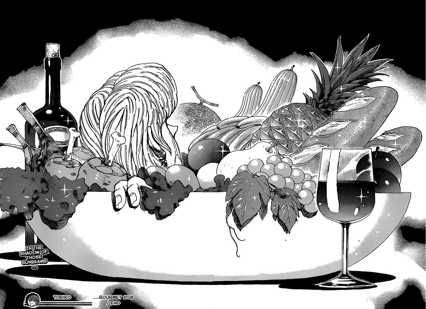 Toriko Chapter 208  Online Free Manga Read Image 18
