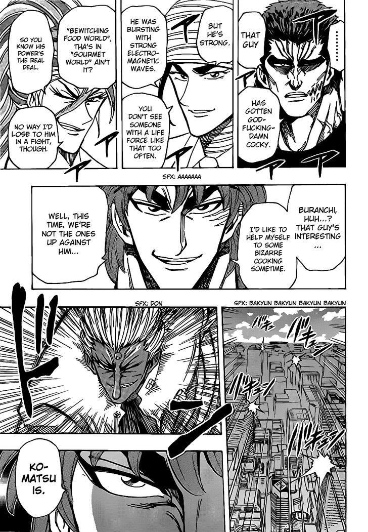 Toriko Chapter 215  Online Free Manga Read Image 9