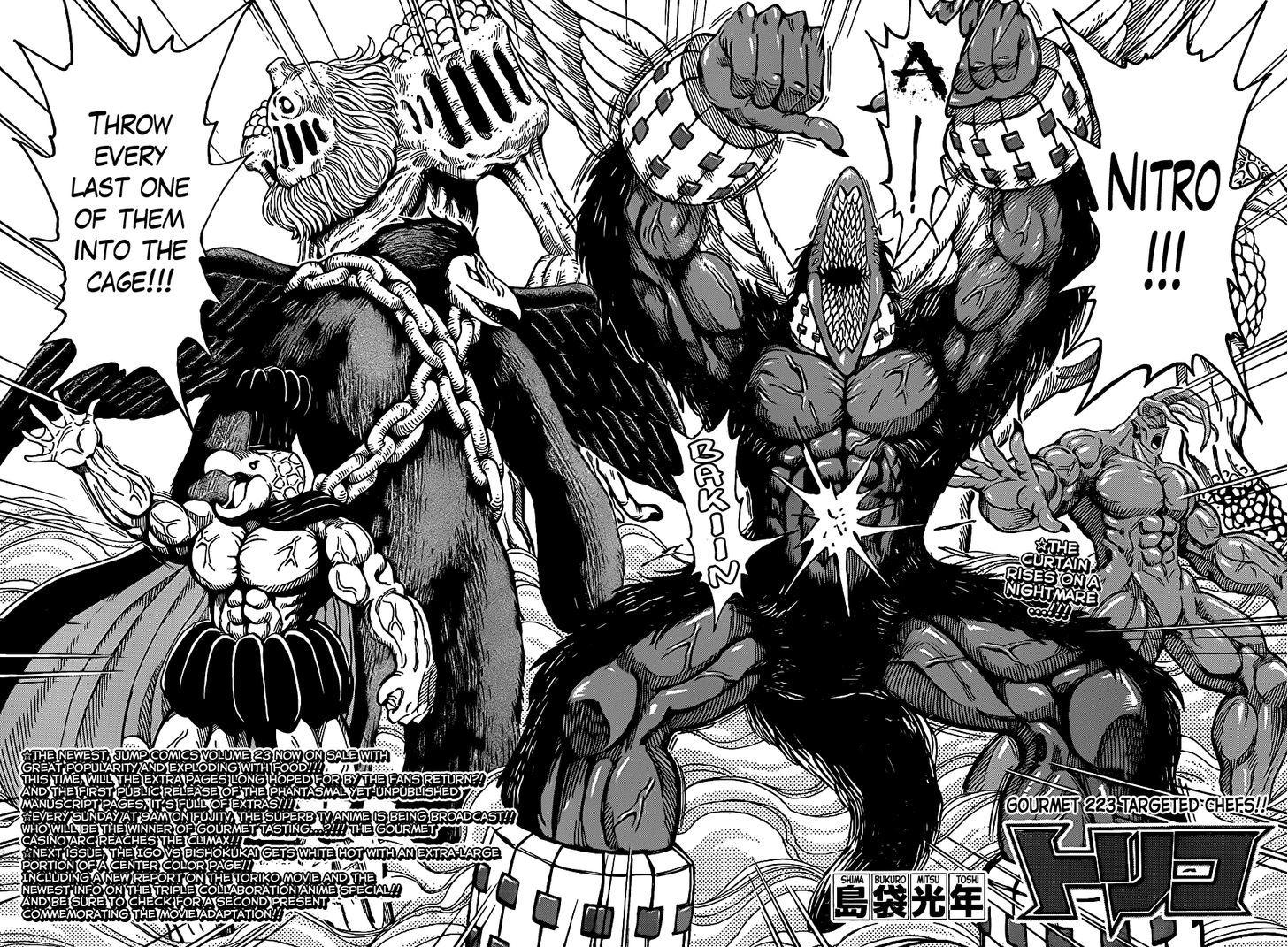 Toriko Chapter 223  Online Free Manga Read Image 2