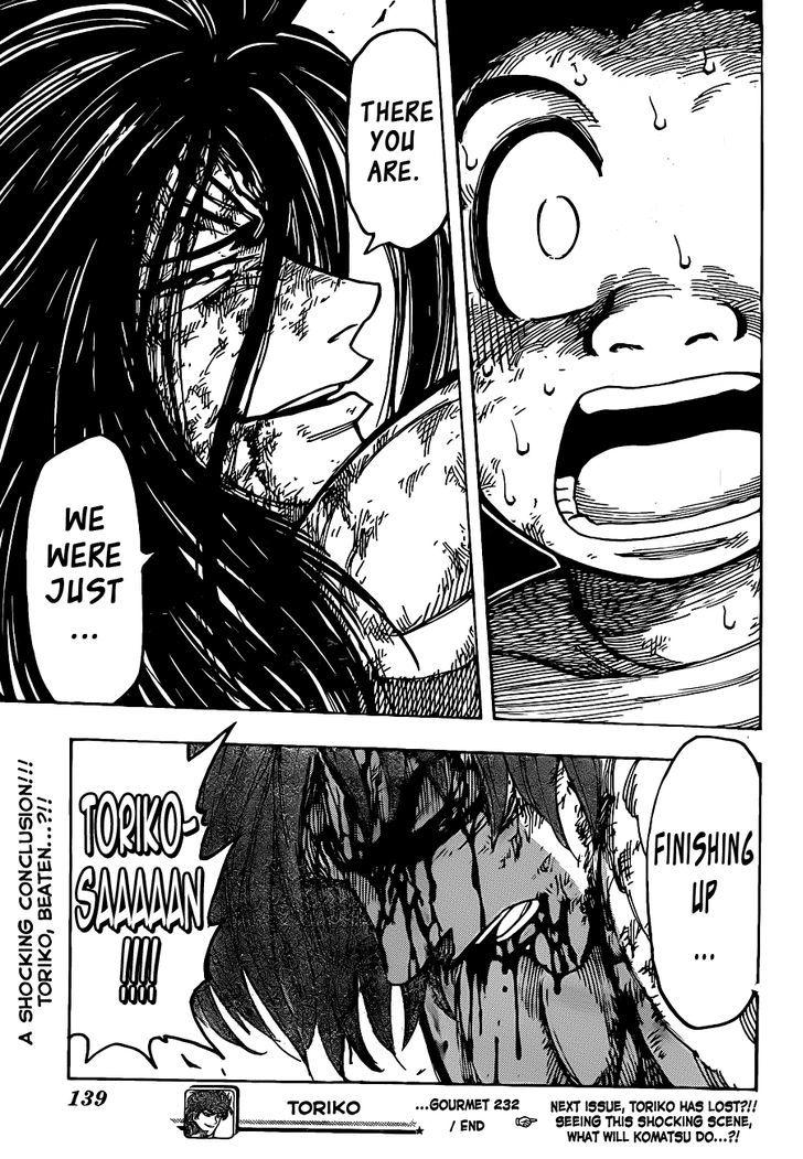 Toriko Chapter 232  Online Free Manga Read Image 19