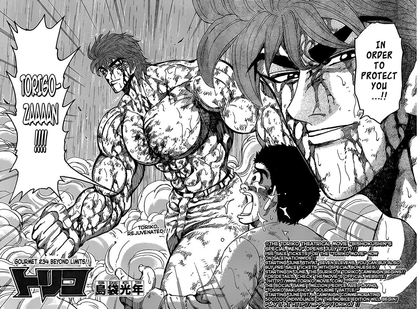 Toriko Chapter 234  Online Free Manga Read Image 2