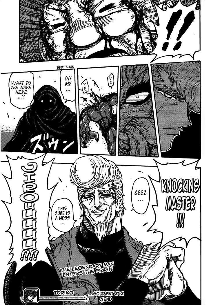Toriko Chapter 242  Online Free Manga Read Image 18