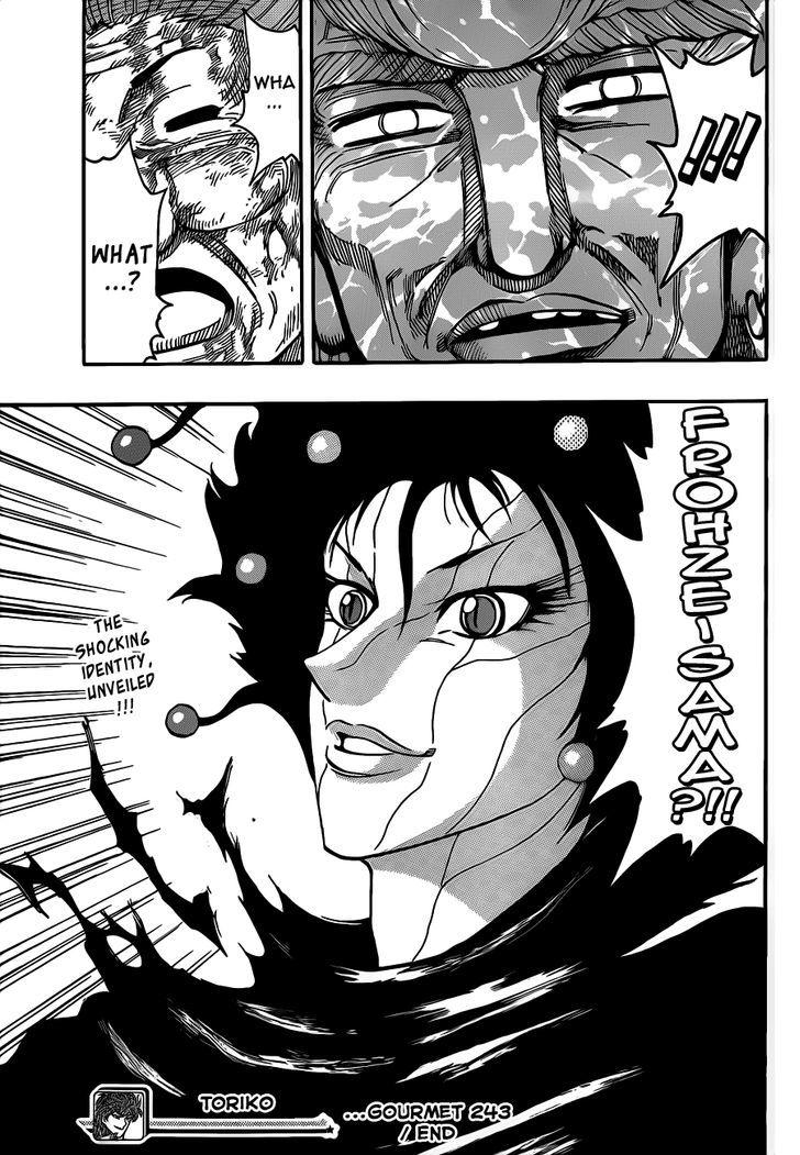 Toriko Chapter 243  Online Free Manga Read Image 16