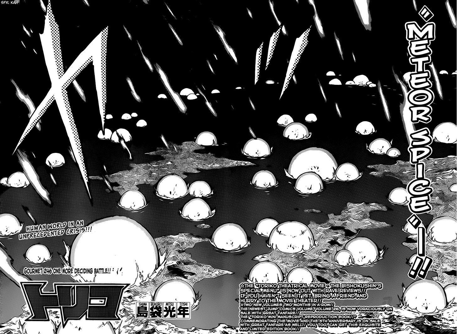 Toriko Chapter 246  Online Free Manga Read Image 2