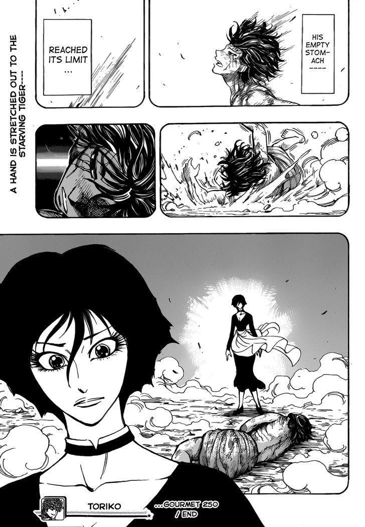 Toriko Chapter 250  Online Free Manga Read Image 18