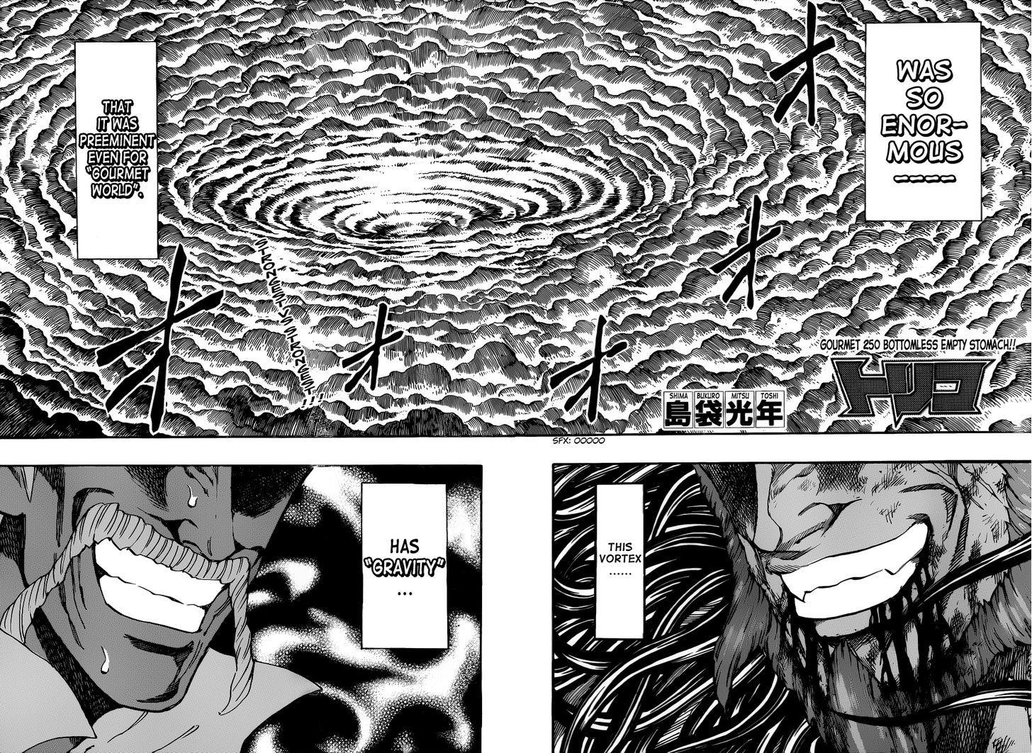 Toriko Chapter 250  Online Free Manga Read Image 2