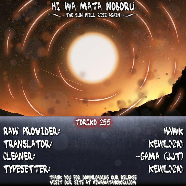 Toriko Chapter 255  Online Free Manga Read Image 18