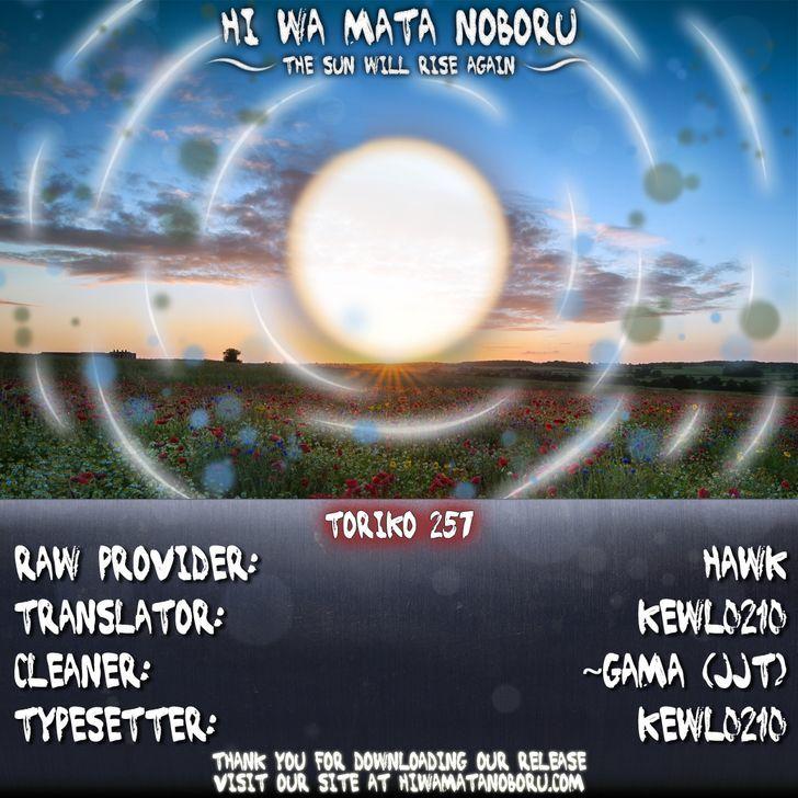Toriko Chapter 257  Online Free Manga Read Image 19