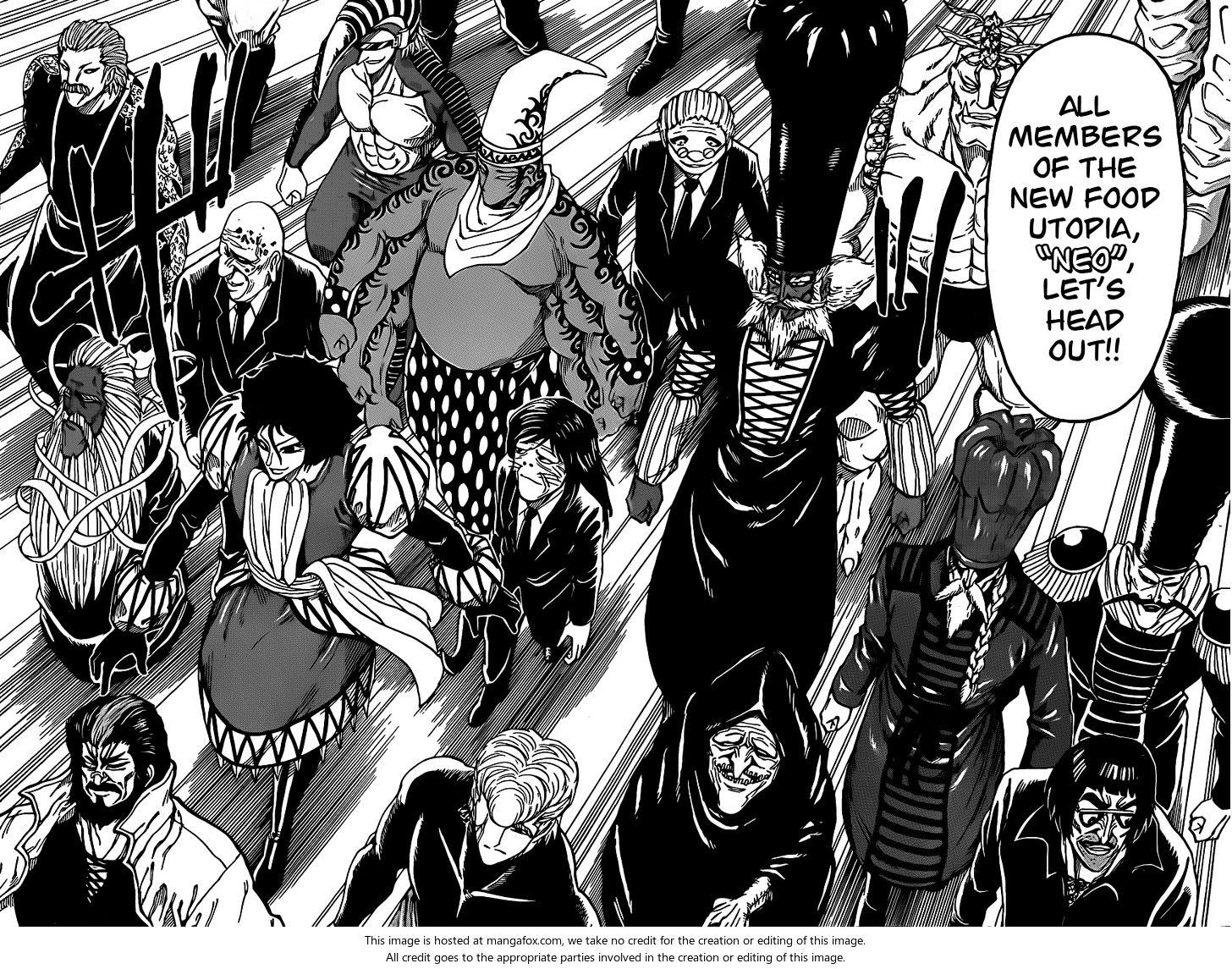 Toriko Chapter 258  Online Free Manga Read Image 14