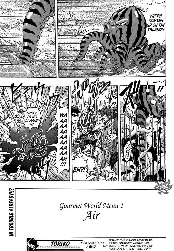 Toriko Chapter 273  Online Free Manga Read Image 19