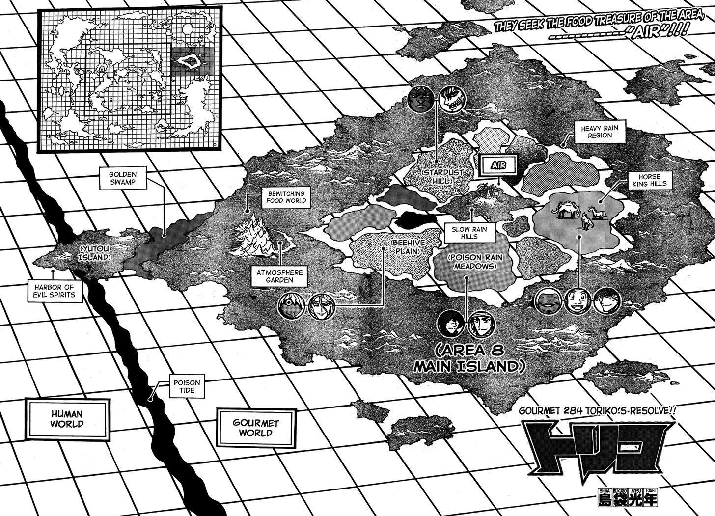 Toriko Chapter 284  Online Free Manga Read Image 2