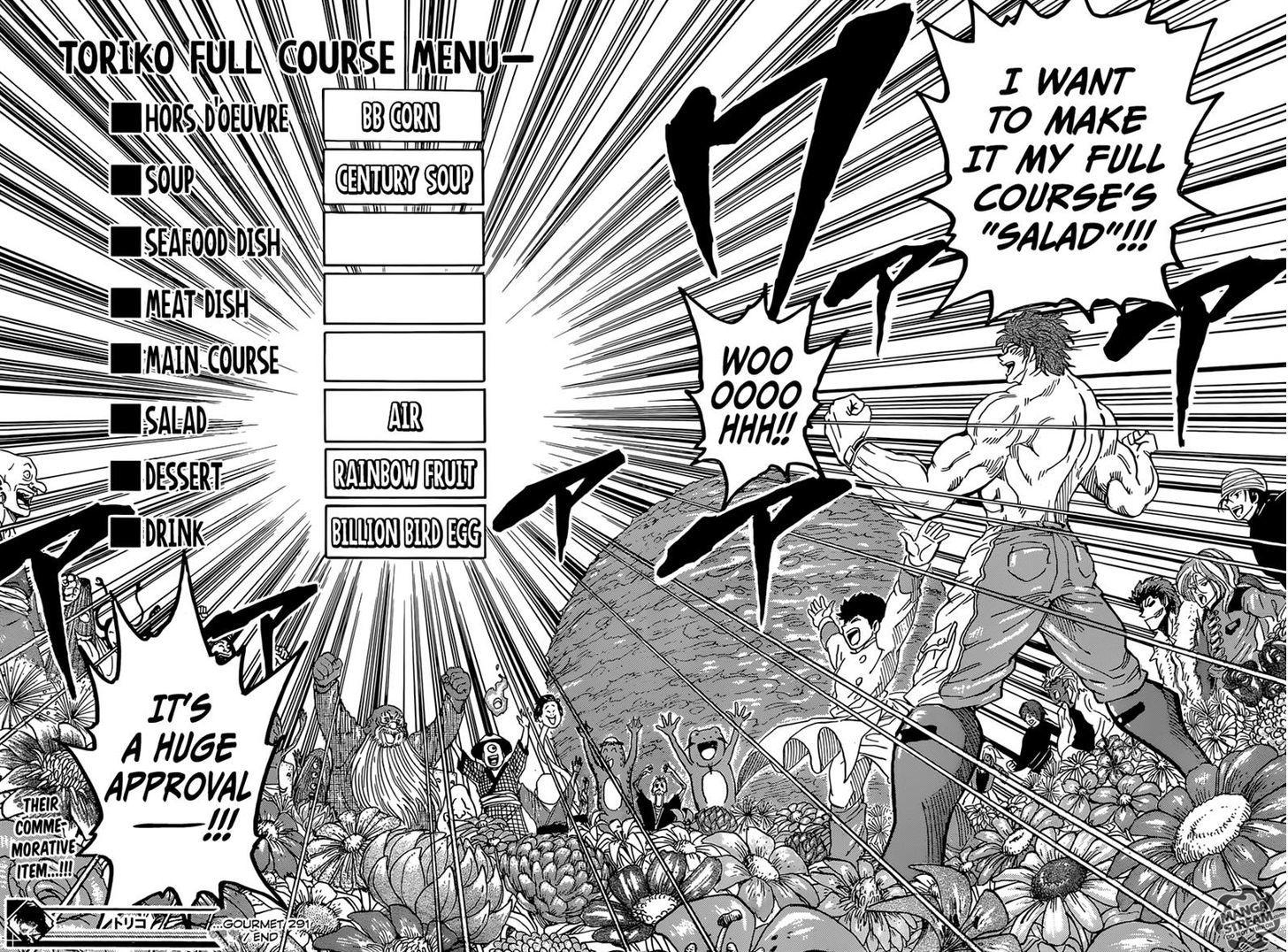 Toriko Chapter 291  Online Free Manga Read Image 17