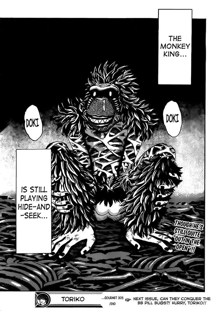 Toriko Chapter 305  Online Free Manga Read Image 16