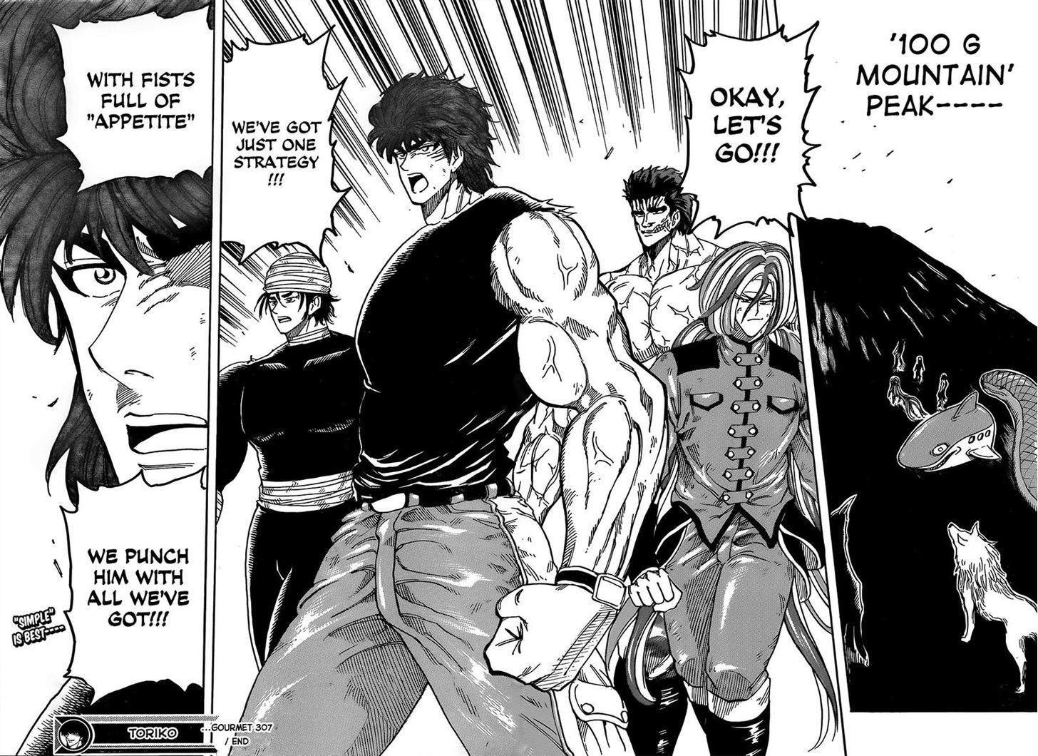 Toriko Chapter 307  Online Free Manga Read Image 18