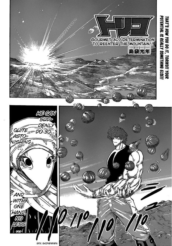 Toriko Chapter 307  Online Free Manga Read Image 2