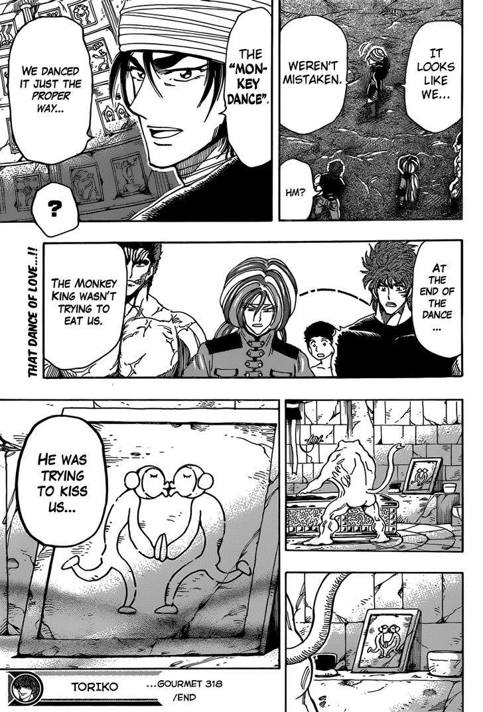 Toriko Chapter 318  Online Free Manga Read Image 14