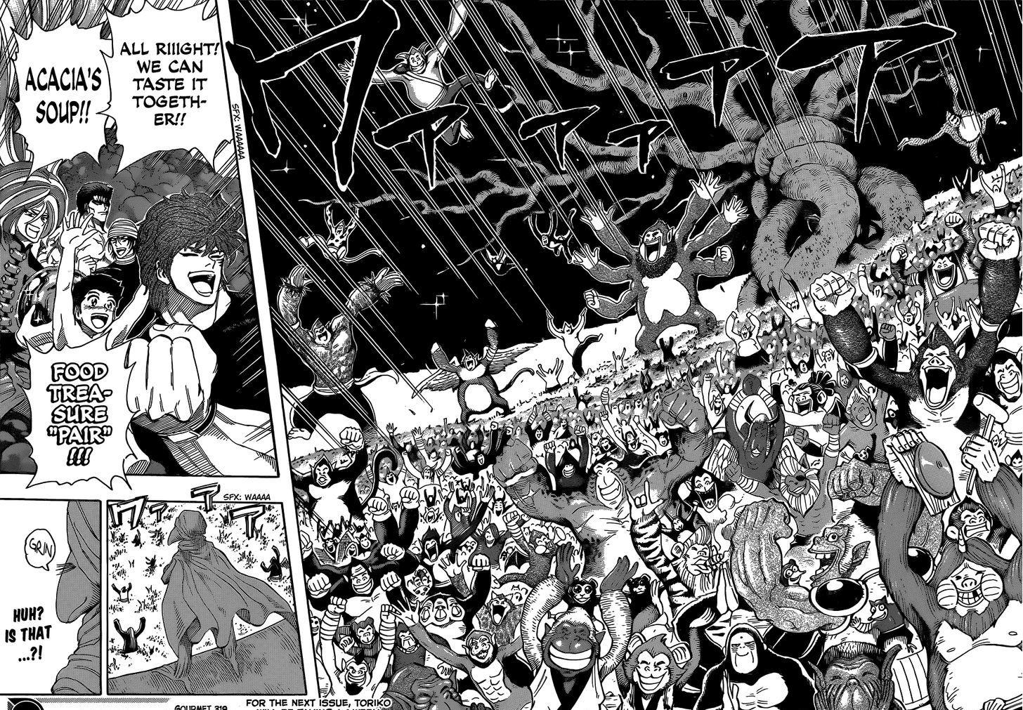 Toriko Chapter 319  Online Free Manga Read Image 18