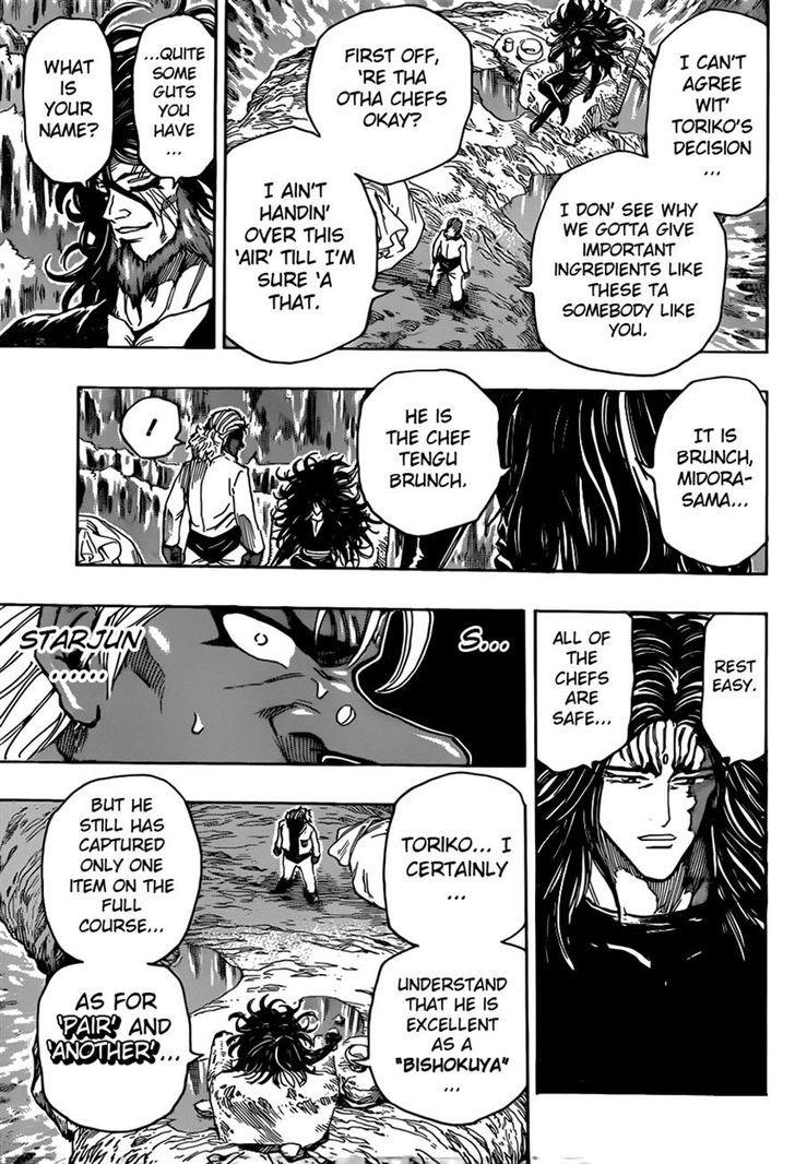 Toriko Chapter 322  Online Free Manga Read Image 17