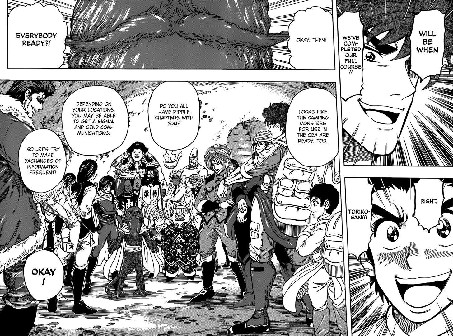 Toriko Chapter 327  Online Free Manga Read Image 4