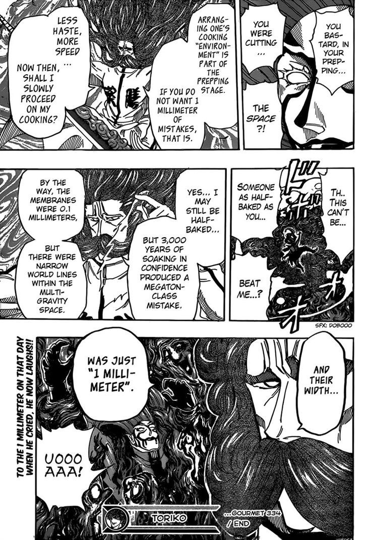 Toriko Chapter 334  Online Free Manga Read Image 19
