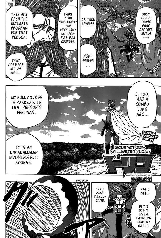 Toriko Chapter 334  Online Free Manga Read Image 2