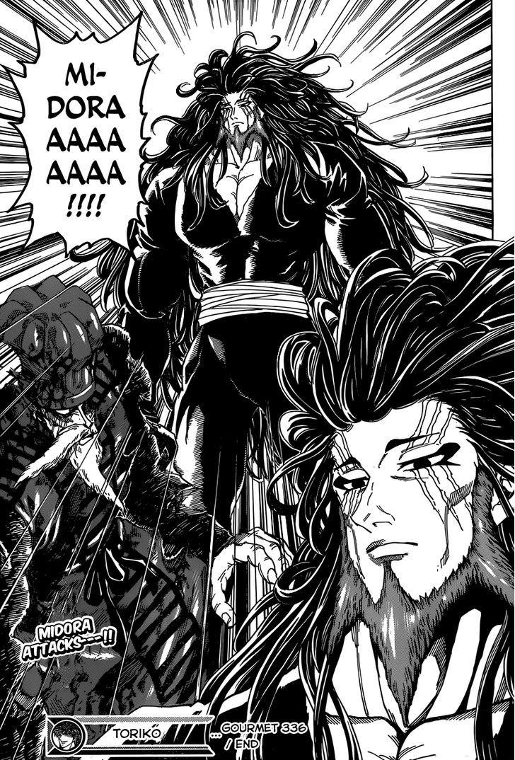 Toriko Chapter 336  Online Free Manga Read Image 18