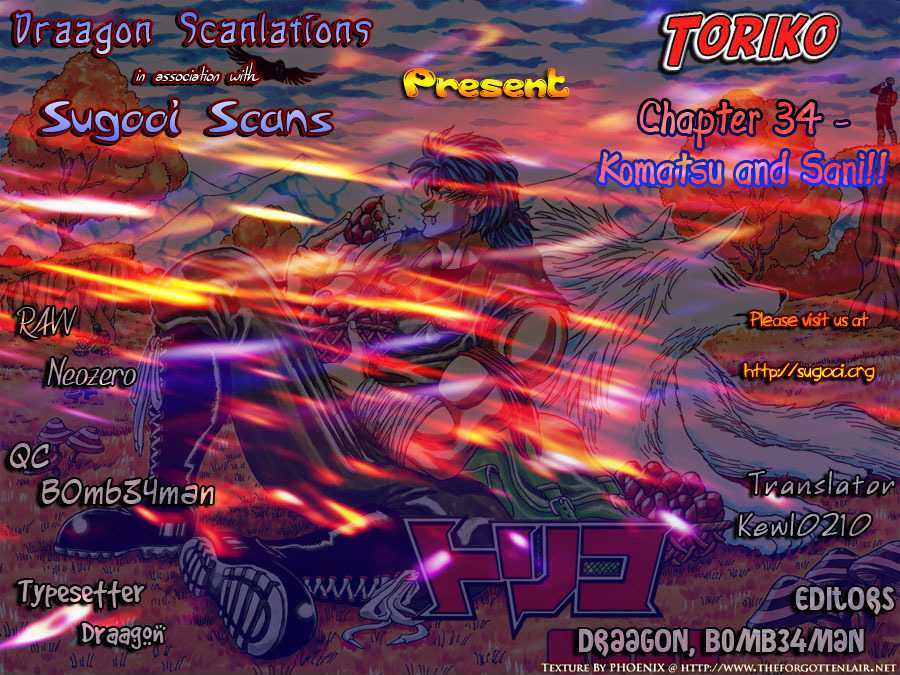 Toriko Chapter 34  Online Free Manga Read Image 16