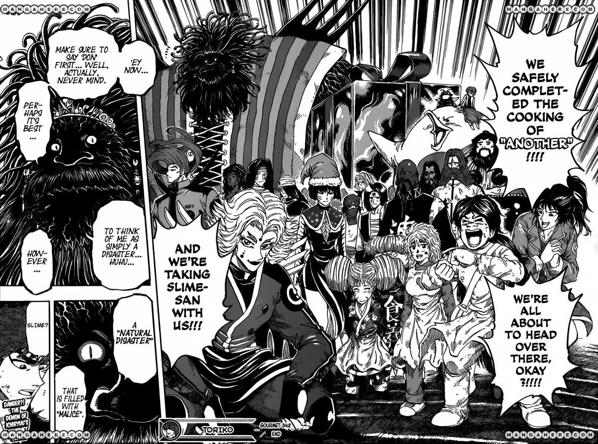 Toriko Chapter 342  Online Free Manga Read Image 17